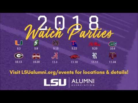LSU Alumni Association Official Watch Parties 2018