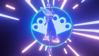 [Miraculous Ladybug Transformation] Mayura 3D NEON version [FAN MADE]/マユラ 変身シーン [3Dネオン.ver]