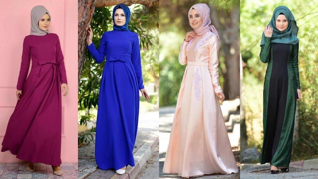 413aefcfaa230 Sefamerve 2017 - Yeni Sezon Tesettür Abiye Elbise Modelleri - YouTube