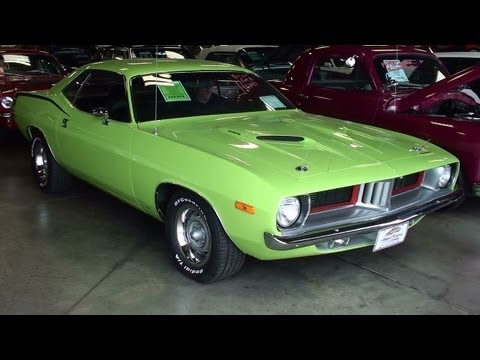 700 HP 1973 Plymouth Cuda 426 Hemi Mopar Muscle Car