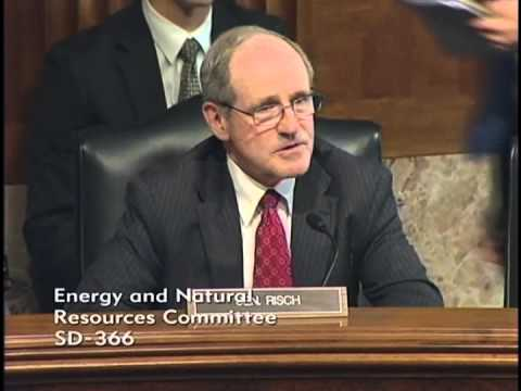 Risch Questions Chief Tidwell at Senate Energy and Natural Resources Hearing