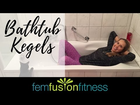 Bathtub Kegels for Pelvic Floor Strength & Relaxation | FemFusion Fitness