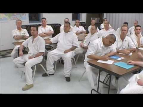 Palabras de paz en Fabian Dominguez State Jail , San Antonio Texas