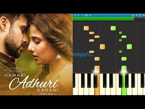 How to play Hasi Ban Gaye from Hamari Adhuri Kahani on Piano / Keyboard - Part 1