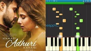 How to play Hasi Ban Gaye from Hamari Adhuri Kahani on Piano / Keyboard - Part 1