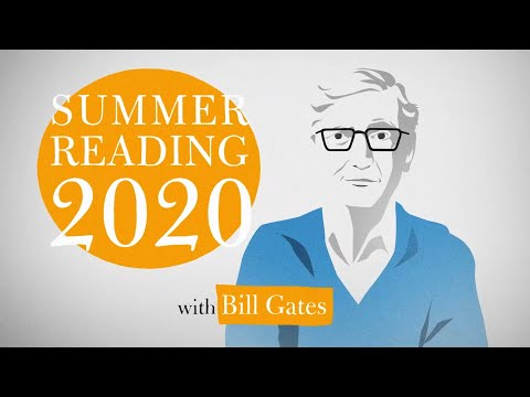 5 summer book recommendations by Bill Gates