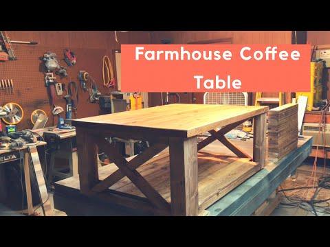 RUSTIC FARMHOUSE COFFEE TABLE BUILD