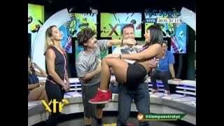 """Cookie Gym, Cintia y Celina modelos de Mario Marinho en """"Tiempo extra"""""""
