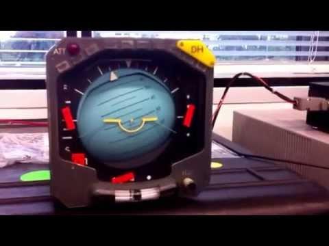 ADI 1: Wired ARINC 429 interface (Manual mode)