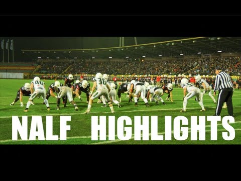 Nick Alfieri German Football League Highlights 2017