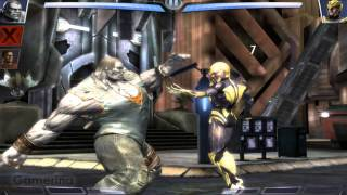 Injustice: Gods Among Us - Boss #2 - Sinestro [iPad] [Gameplay]