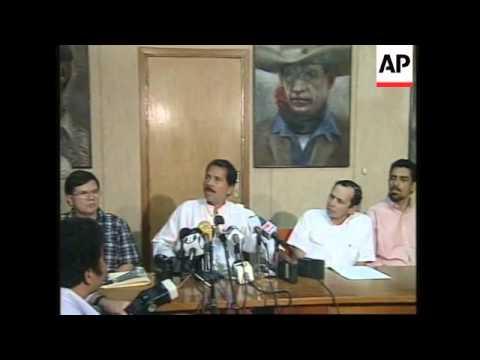 NICARAGUA: WAR OF WORDS ERUPTS BETWEEN GOVERNMENT & OPPOSITION