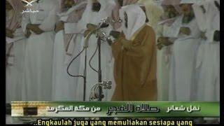 Sheikh Maher Al Muaiqly (Malay Subtitle)