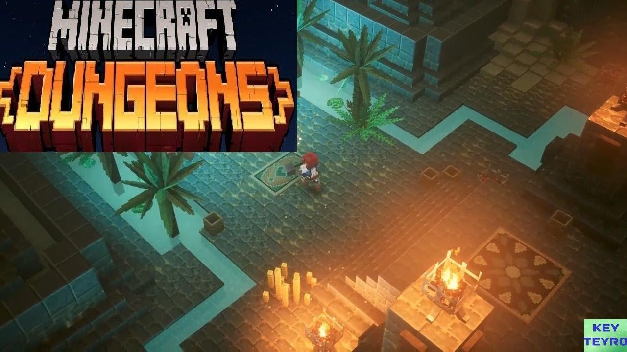 Minecraft Dungeons Gameplay
