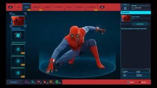 Spider-man ps4 Desbloquear traje casero (Homecoming)