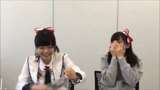 【NGT48 お寿司のワサビに涙する みはちゃん(奈良未遥)】20160623