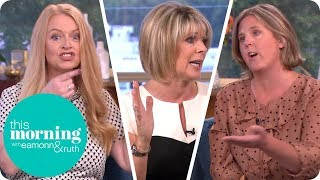 Ruth Struggles to Break Up Intense Debate Over Topless Sunbathing | This Morning