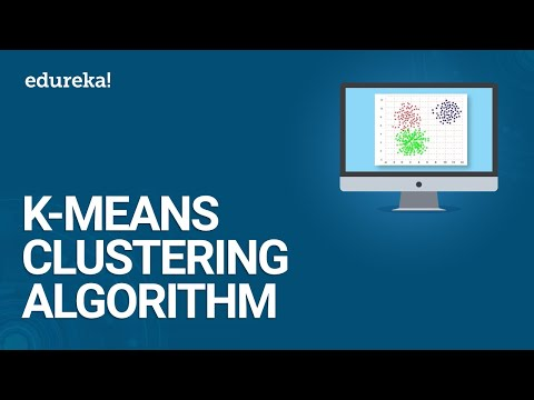 K-Means Clustering Algorithm - Cluster Analysis | Machine Learning Algorithm | Data Science |Edureka