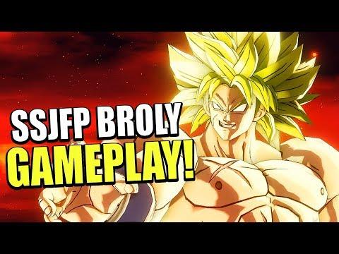 LEGENDARY MONSTER! BROLY FULL POWER MOVESET DLC 8 GAMEPLAY! | Dragon Ball Xenoverse 2