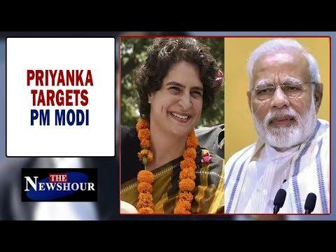 Ahead of 2019 Mahabharat, Priyanka Gandhi Vadra attacks PM Modi | The Newshour Debate (12th March)