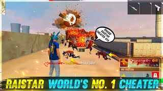 Rai World no.1 Cheater😭 | 1 Vs 20 Kills Raistar Cheater | Garena Free Fire