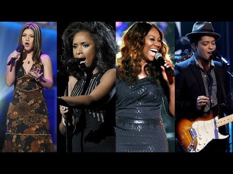 """Who Sang Aretha's """"Respect"""" Best? (Kelly Clarkson, Jennifer Hudson, Bruno Mars and more)"""