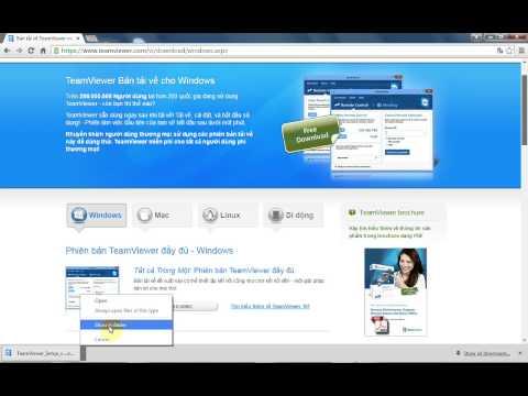 Hướng dẫn cài đặt, sử dụng phần mềm Teamview