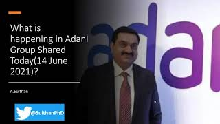 Why Adani Group shares fell sharply on stock market?
