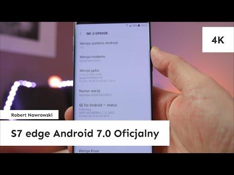 Samsung Galaxy S7 edge Android 7.0 Nougat Oficjalny G935FXXU1DPLT | Robert Nawrowski