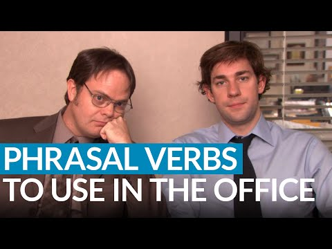 English at Work: 10 Phrasal Verbs for the Office