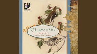 Lyric Pieces, Book 3, Op. 43: No. 4. Little Bird (Voglein)