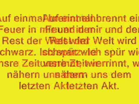 Die Toten Hosen   Alles aus Liebe  Songtext     lyrics