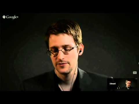 Edward Snowden - Entrevista com Lawrence Lessig