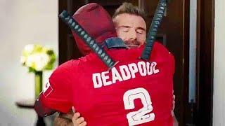 """DEADPOOL 2 """"Deadpool s'excuse auprès de DAVID BECKHAM"""" Bande Annonce (NOUVELLE, 2018)"""