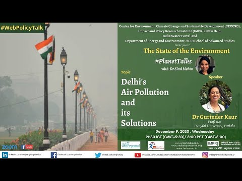 #PlanetTalks | E15 | Gurinder Kaur | Delhi Pollution and its Solutions