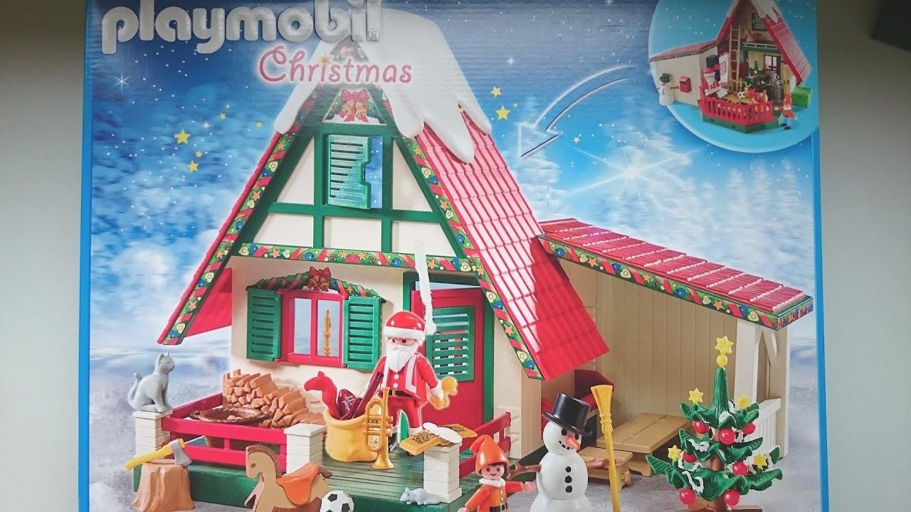 casa de papa noel de playmobil playmobil de navidad