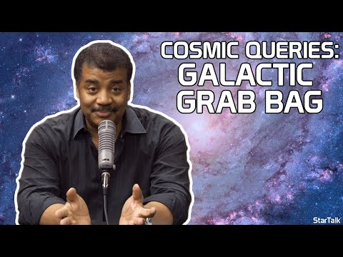 StarTalk Podcast: Cosmic Queries: Galactic Grab Bag, with Neil deGrasse Tyson and Iliza Shlesinger