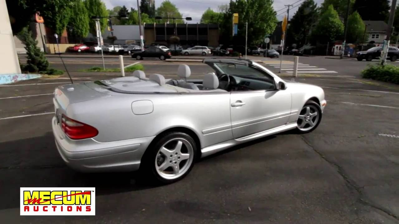 2003 mercedes benz clk 430 cabriolet youtube. Black Bedroom Furniture Sets. Home Design Ideas