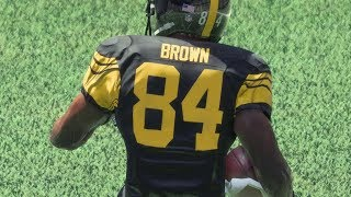 Madden 18 Top 10 Plays of the Week Episode 1 - Antonio Brown FUNNY Celebration After CRAZY Touchdown