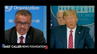 WHO Director-General Praises Trump AndThe Response Of The United States To Coronavirus