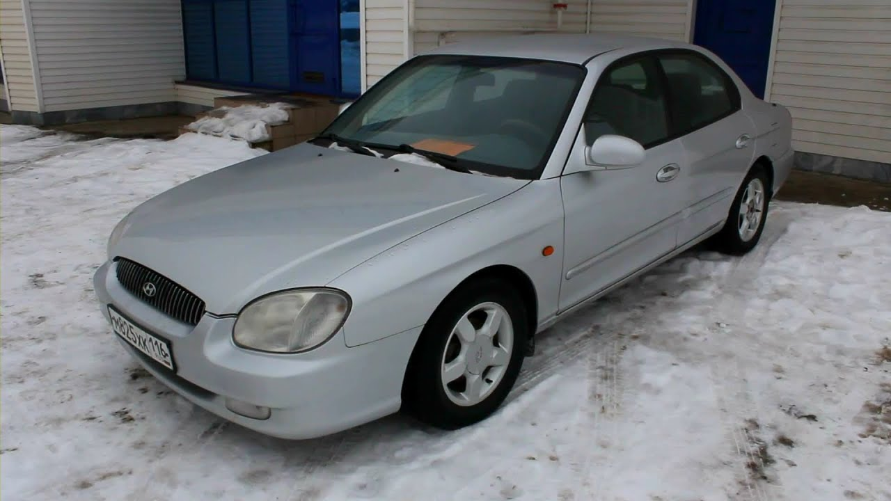 2000 Hyundai Sonata  Start Up  Engine  And In Depth Tour