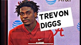 Trevon Diggs talks Alabama secondary and new coach Karl Scott