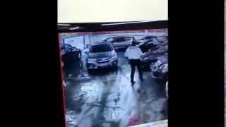 Enchente Concessionária Honda - SP