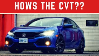 New Honda Civic: How's the CVT transmission?