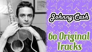 Johnny Cash - 60 Original Tracks - Music Legends Book