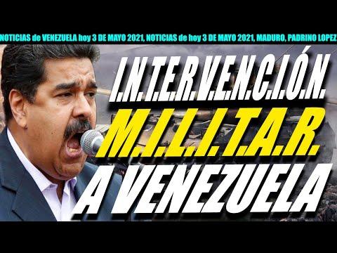 NOTICIAS de VENEZUELA hoy 3 DE MAYO 2021, NOTICIAS de hoy 3 DE MAYO 2021, MADURO, PADRINO LOPEZ