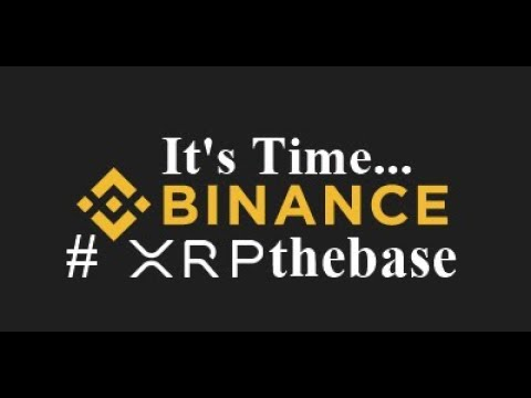 Time For Ripple XRP Base Trading Pair @cz_Binance