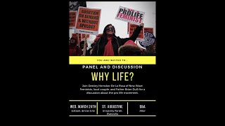 Panel & Discussion: Why Life?