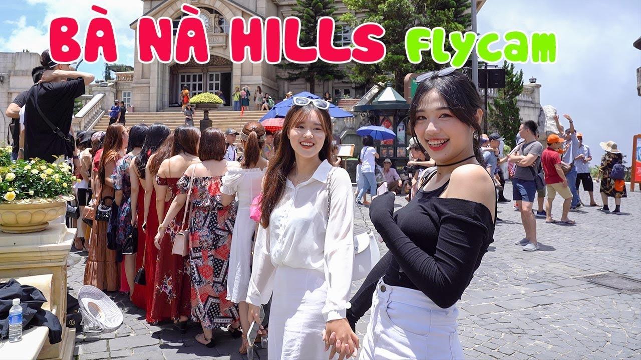 """Cầu Vàng Bà Nà Hills Đà Nẵng tấp nập """"Người Việt đi du lịch Việt Nam"""""""