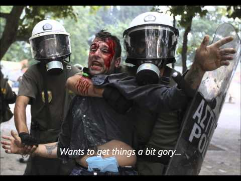 Police Violence In Greek Protests